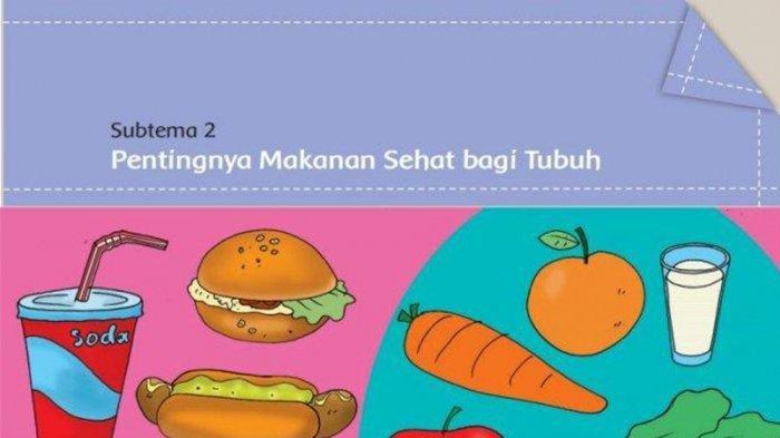 KUNCI JAWABAN SOAL Kelas 5 Tema 3 Halaman 85 86 87 Buku Tematik Siswa Pentingnya Menjaga Asupan Makanan Sehat