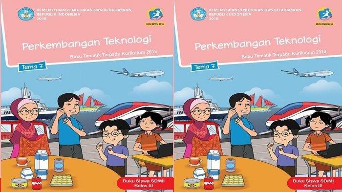 KUNCI JAWABAN Kelas 3 SD TEMA 7 Halaman 85 86 87 88 89 90 Teknologi dan Produksi Sandang Subtema 2 Buku Tematik Siswa SD