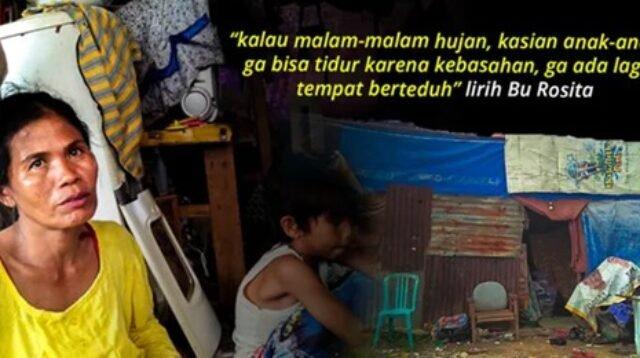 Kisah Pilu, Derita Ibu Pemulung dan 3 Anak Yatimnya Tinggal di Gubuk Tak Layak Huni
